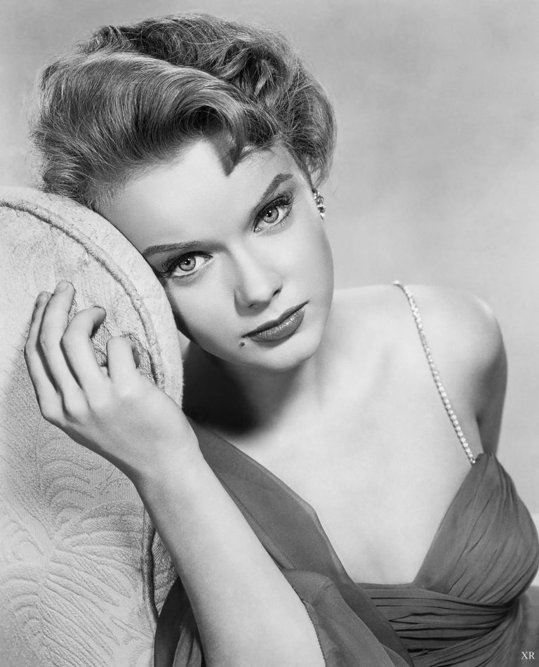 Anne Francis Without Makeup