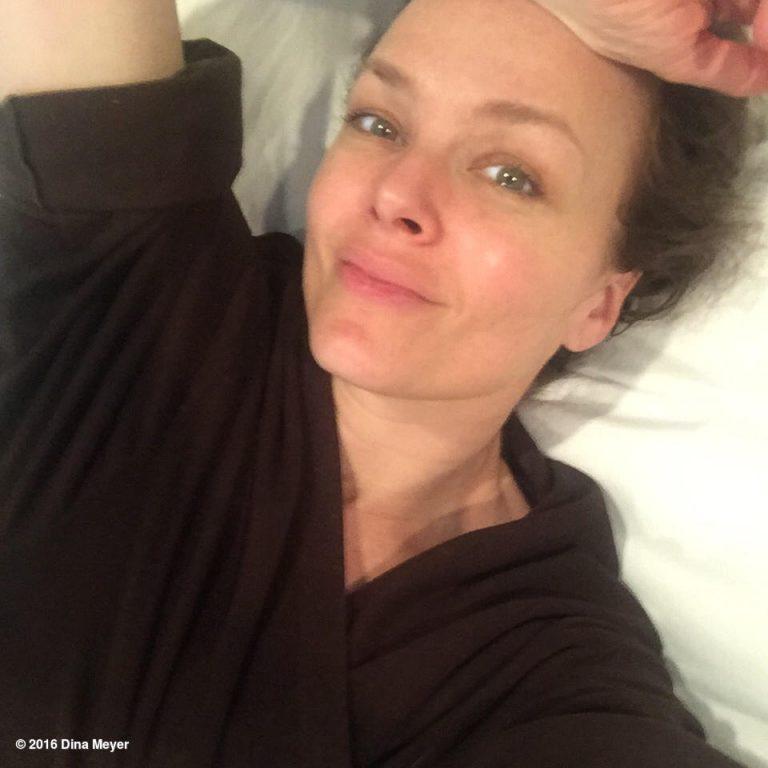 Dina Meyer Without Makeup