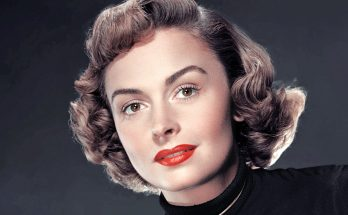 Donna Reed Without Cosmetics