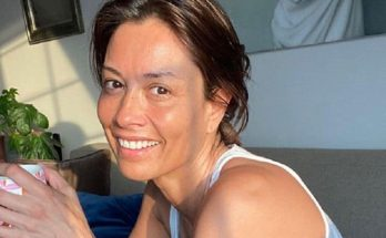 Melanie Sykes Without Cosmetics